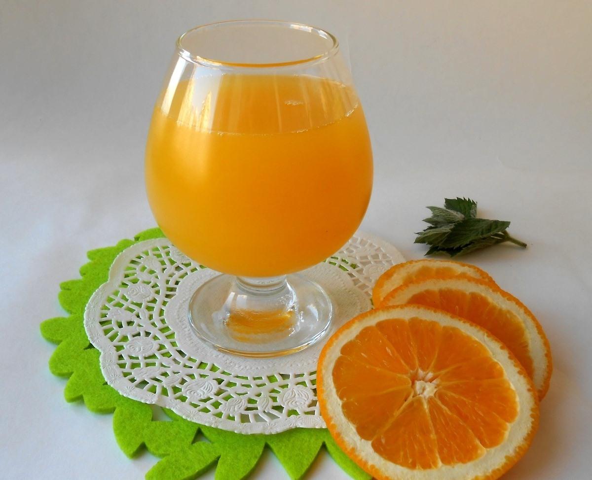 Фанта из апельсиновых корок