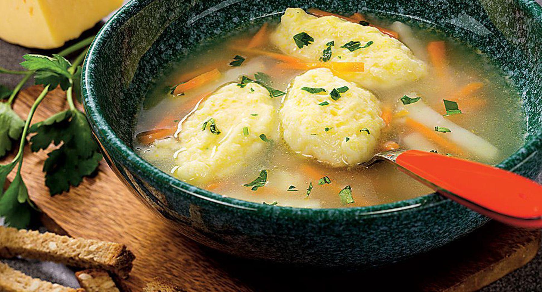 Суп картофельный с клецками