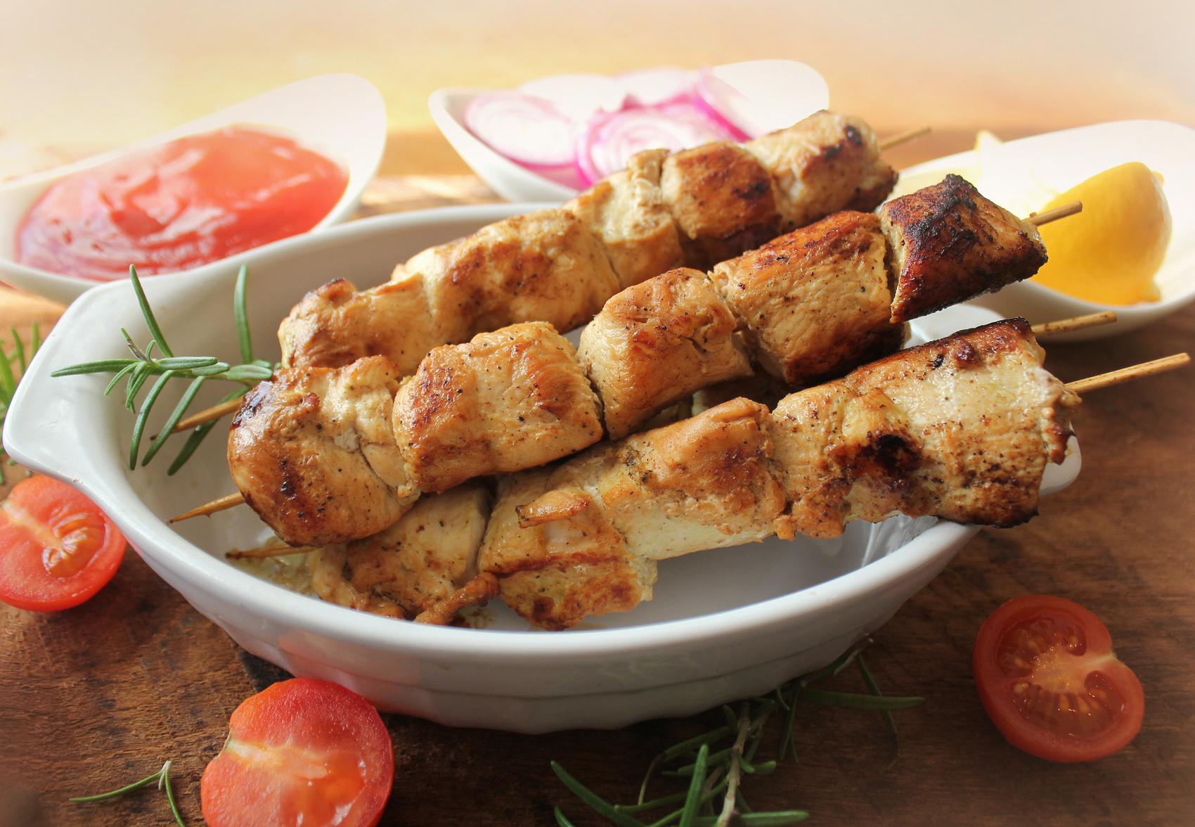 Шашлык по-грузински из курицы