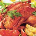 Курица, фаршированная по-еврейски