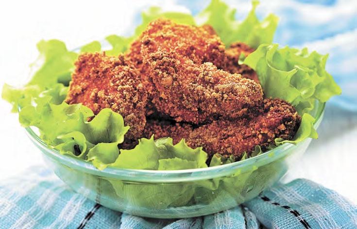 Куриное филе в панировке