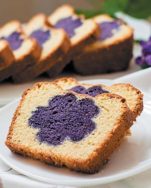 Творожный кекс «Цветок»