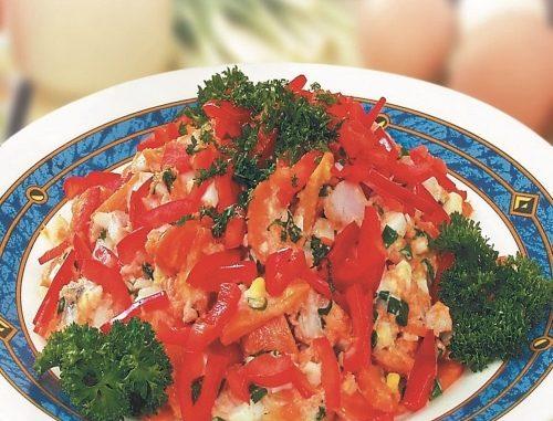 Салат из сельди по-домашнему