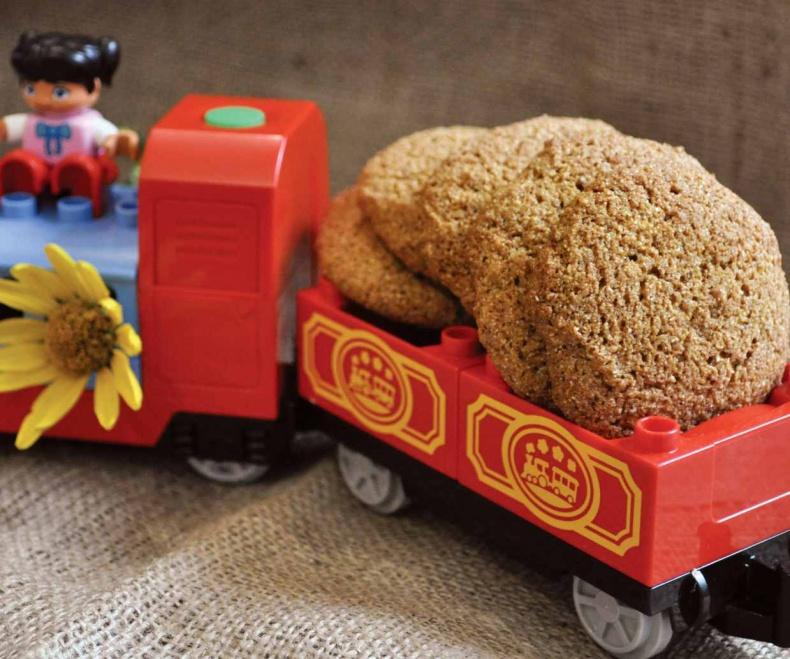 Детское печенье с цельнозерновой мукой
