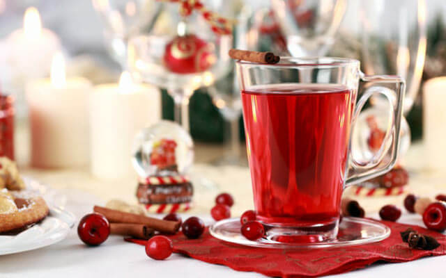 Красный цитрусовый чай