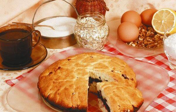 Пирог «Черничный»