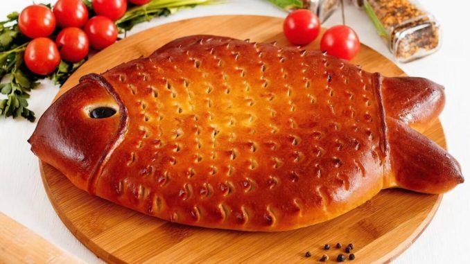 """Пирог """"Рыбка"""""""