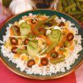 Рис с овощной смесью