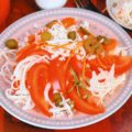Салат из помидоров и квашеной капусты