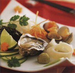 Сашими-суши с морепродуктами