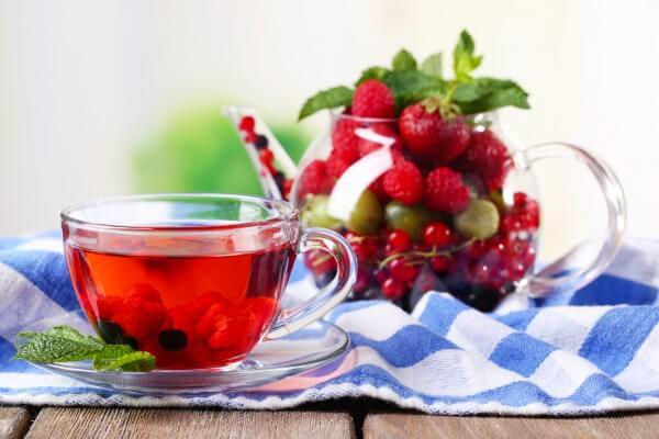 Ягодный чай