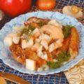 Жареное филе щуки с пикантным соусом