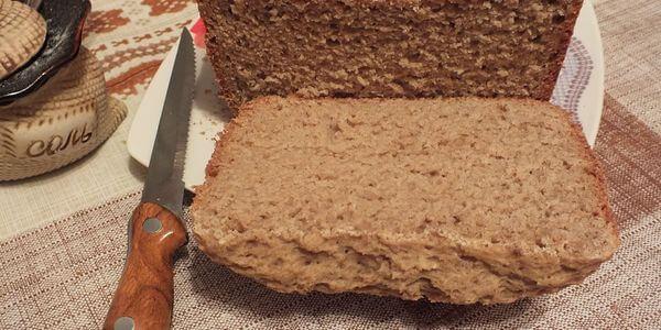 Ржаной хлеб на простокваше в хлебопечке