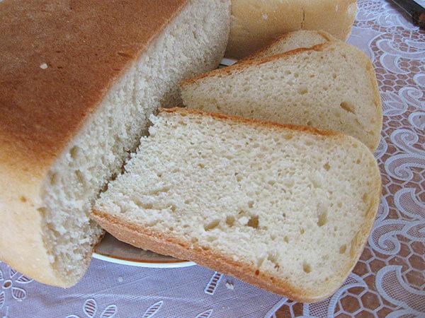 Хлеб на кислом молоке в мультиварке