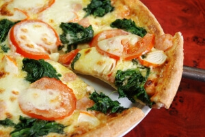 Флорентийская пицца