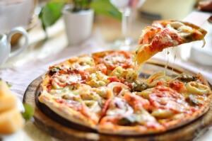 Нежнейшая пицца с креветками
