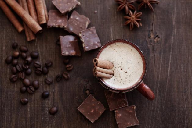 Холодный кофе «Эскимо»