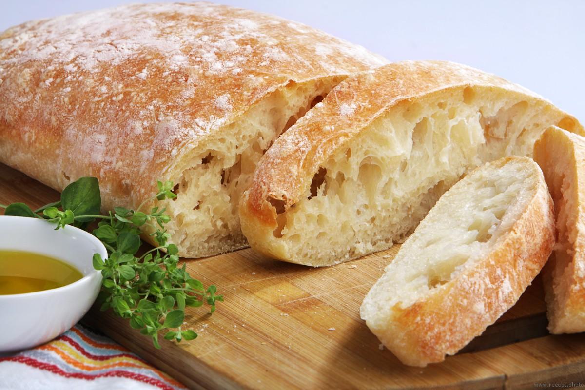 Итальянский деревенский хлеб — «Чиабатта»