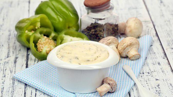Соус на основе грибов
