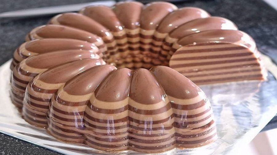 Шоколадно-кофейный пудинг
