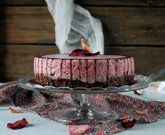 торт «Вишневое удовольствие»