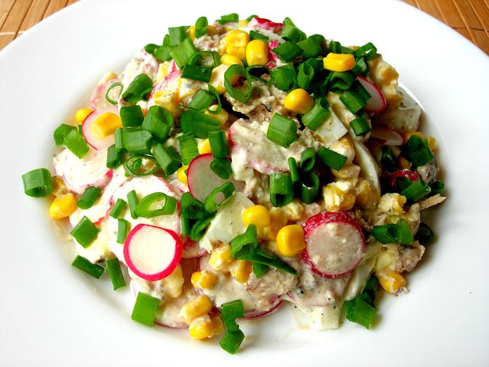 Весенний салат за 5 минут