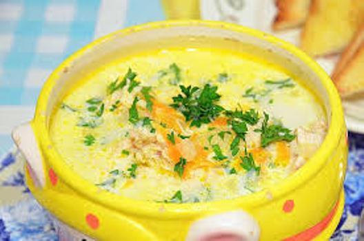 Суп «Сырный рай»