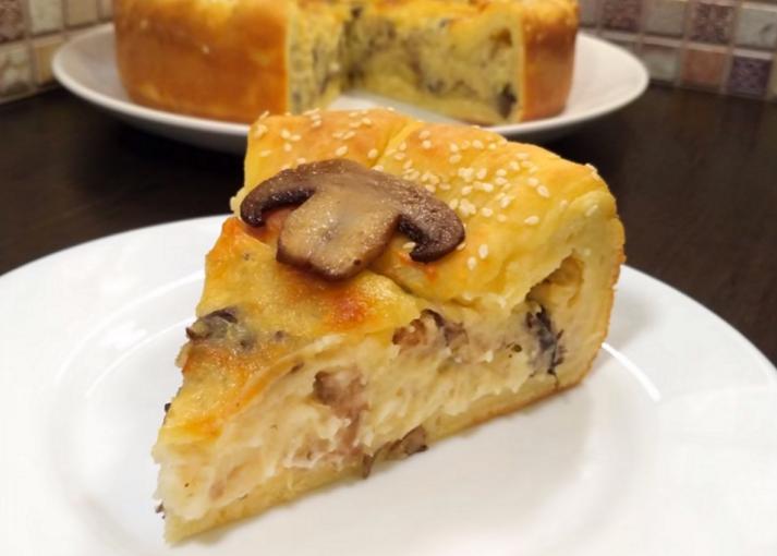 пирог «Барон-шампиньон»