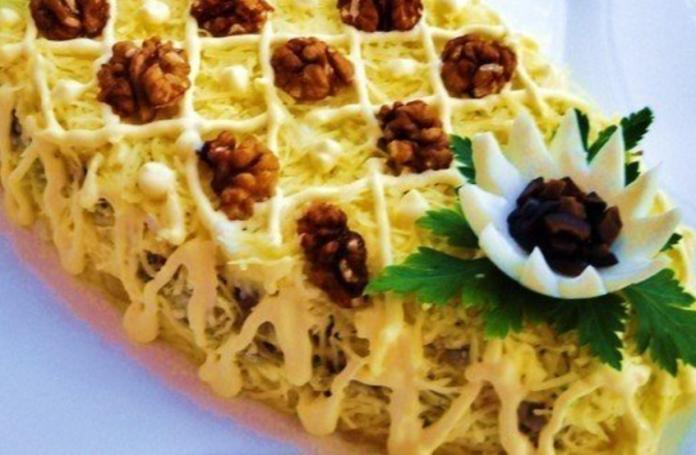 салат «Нежность»
