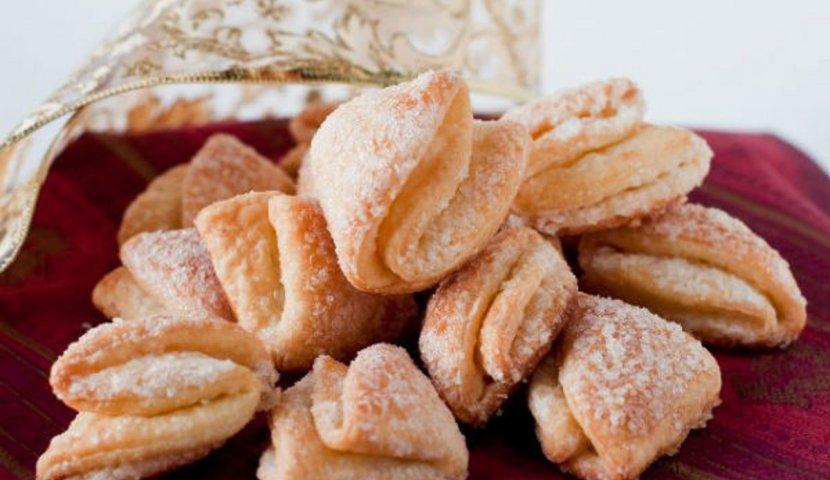 Печенье Гусиные лапки с творогом