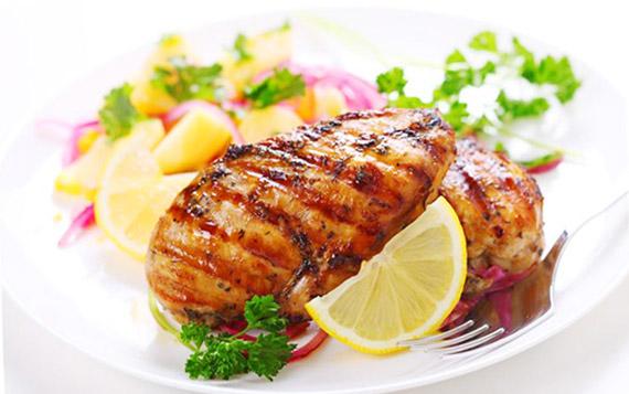 Куриное филе с лимоном и тимьяном