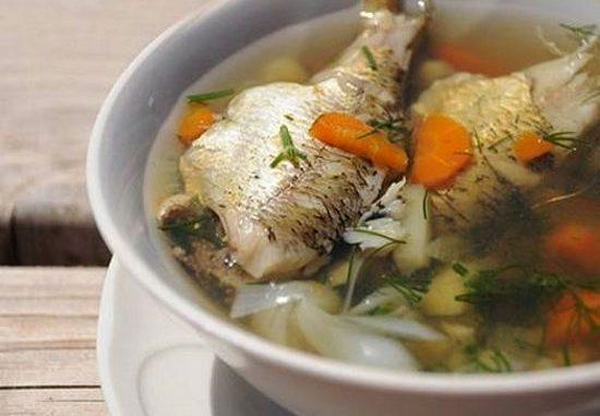 Суп с карпом