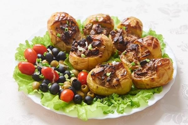 Картофельные «лапти»