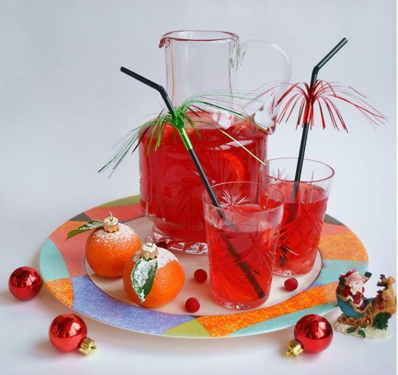 Клюквенный напиток